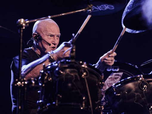 Chris Slade : drums – Photo Régis Lelièvre – 2017