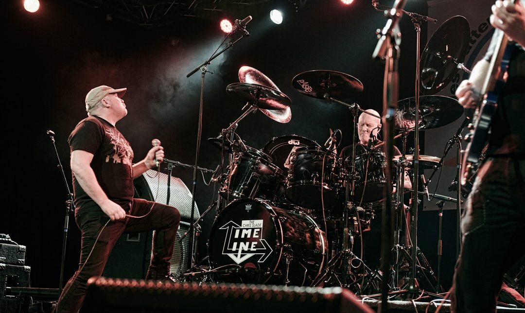 Timeline, le groupe de Chris Slade – Photo Régis Lelièvre – 2017