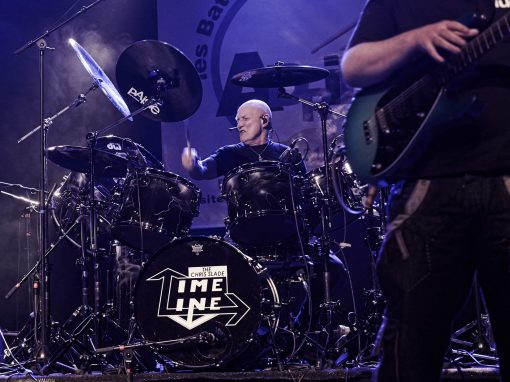 Chris Slade et James Cornfort – Photo Régis Lelièvre – 2017