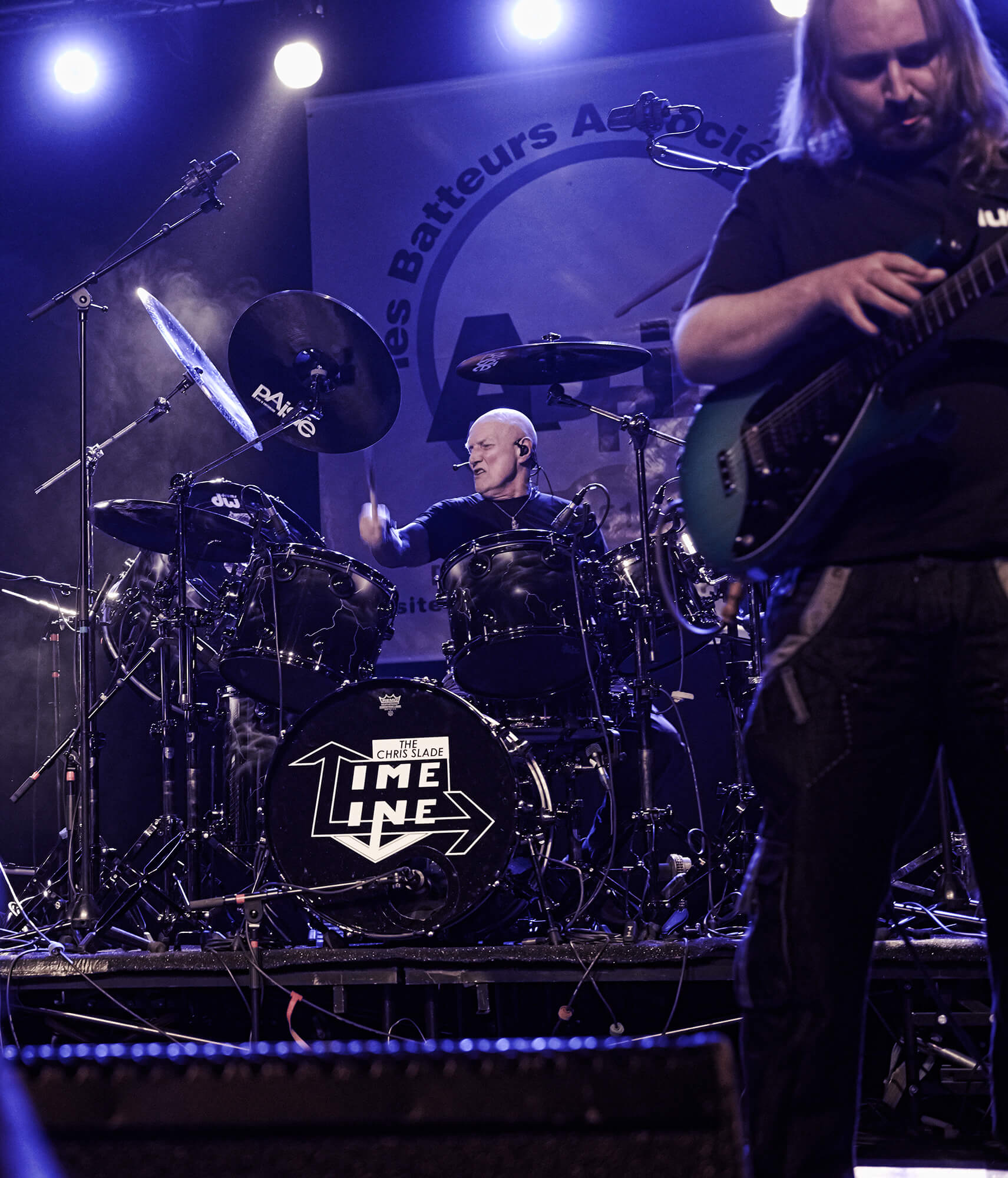 Chris Slade et James Cornfort © Régis Lelièvre