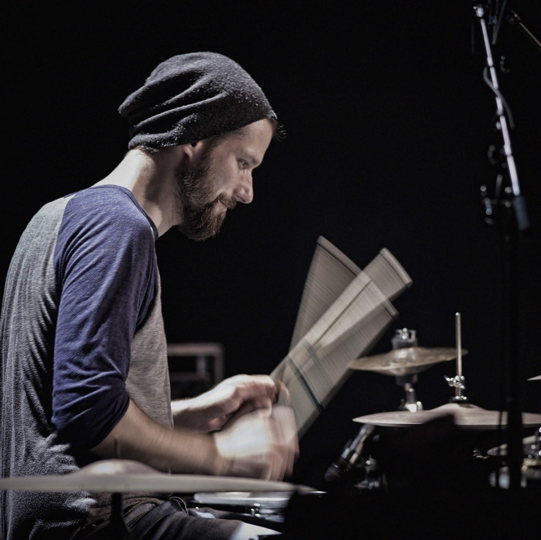 Benny Greb, batteur – Photo Régis Lelièvre – 2014