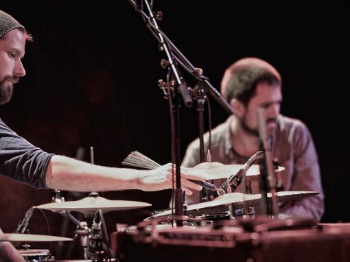 Benny Greb et Kit Downes – Photo Régis Lelièvre – 2014