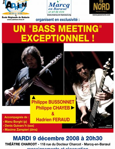 Maxime Zampieri - bass meeting - (2008)