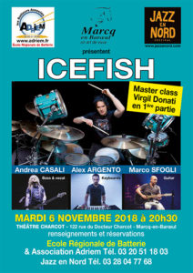Concert : Virgil Donati feat Icefish